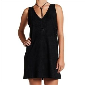 BNWT Lucca Couture Sam Faux Suede Dress